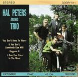 "45Rpm EP ✦HAL PETERS TRIO✦ ""You Don't have To Worry"" Superb Finnish Rockabilly ♫"